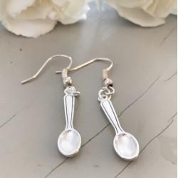 Ordinary Day Spoon Earrings